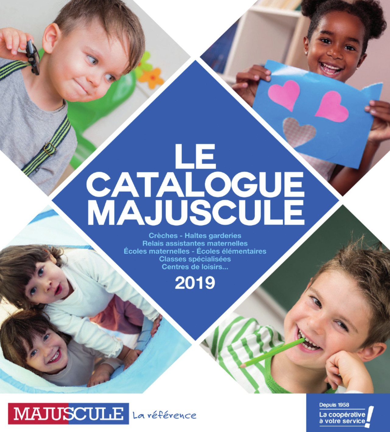 catalogue majuscule